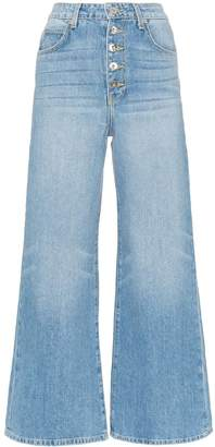 Eve Denim Charlotte wide-leg denim jeans