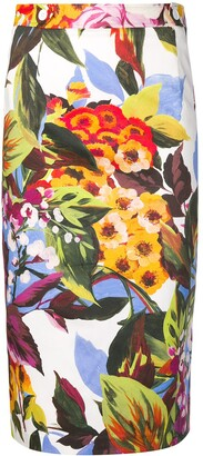 Blugirl floral print skirt