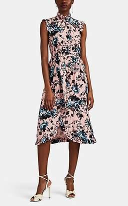 Erdem Women's Sebla Silk Crepe Dress - Pink