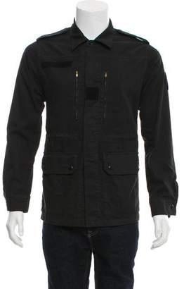 Saint Laurent Woven Utility Jacket