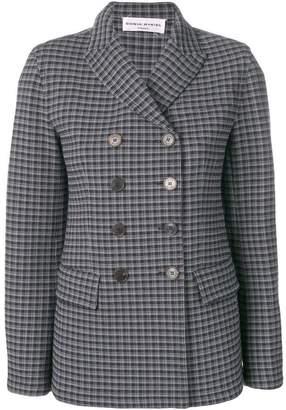 Sonia Rykiel check buttoned blazer