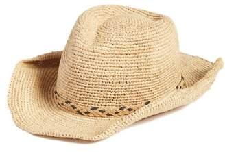 Caslon Packable Raffia Panama Hat