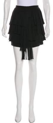 Edun Ruffle-Accented Mini Skirt w/ Tags