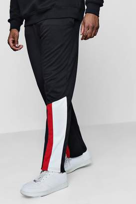 boohoo Big And Tall Colour Block Joggers