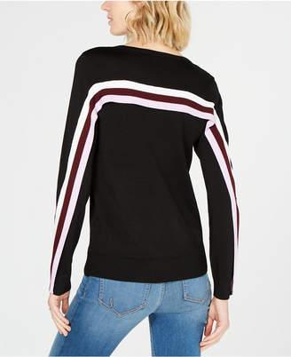 INC International Concepts I.n.c. Colorblock Stripe Sweater