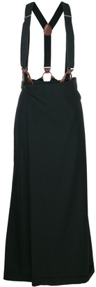 Jean Paul Gaultier Pre-Owned suspenders skirt trousers