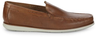 Kenneth Cole New York Textured Leather Moccasins