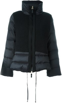 Twin-Set funnel neck padded jacket $344.20 thestylecure.com