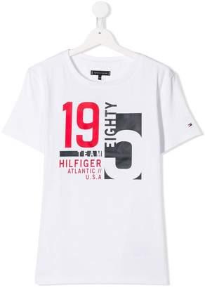 Tommy Hilfiger (トミー ヒルフィガー) - Tommy Hilfiger Junior プリント Tシャツ