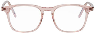 Saint Laurent Pink Square Optical Glasses