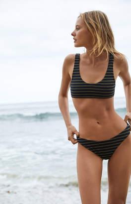 KENDALL + KYLIE Kendall & Kylie Glitter Lurex Bralette Bikini Top