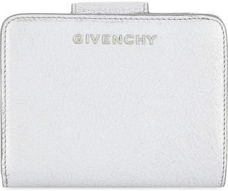Givenchy Pandora metallic leather wallet