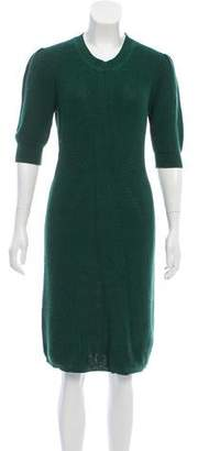 Fendi Knee-Length Sweater Dress