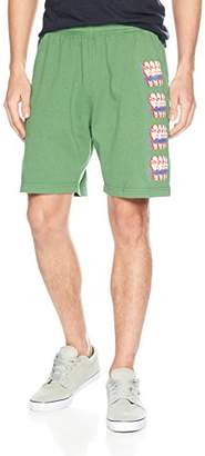 Obey Men's Can You Feel It Heavyweight Elastic Waistband Short