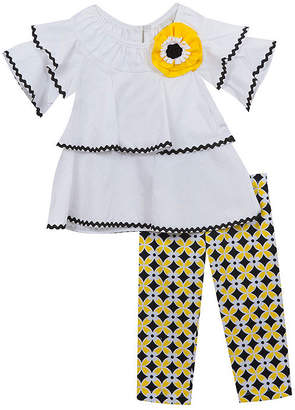 Rare Editions 2-pack Legging Set-Toddler Girls