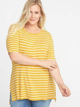 Old Navy Plus-Size EveryWear Striped Tunic