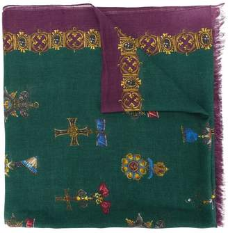 Dolce & Gabbana Royal print scarf