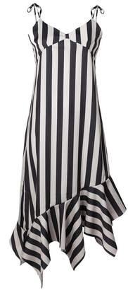 Marques Almeida Marques'almeida striped asymmetric dress