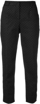 Dolce & Gabbana polka dot cropped trousers