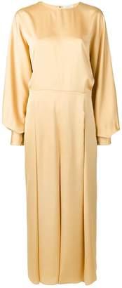 Nina Ricci pleated maxi dress