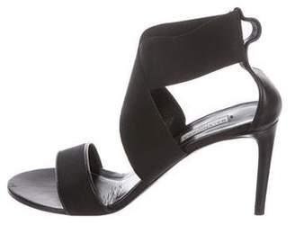 Balenciaga Leather Mid-Heel Pumps