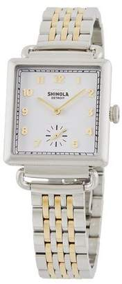 Shinola The Cass 28mm Two-Tone Bracelet Watch