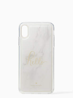 Kate Spade Marble hands free iphone xs max case