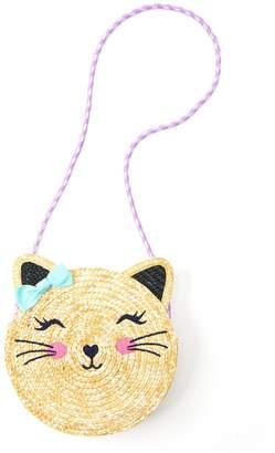 Gymboree Straw Cat Bag