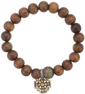 Loree Rodkin Maltese Cross charm bracelet