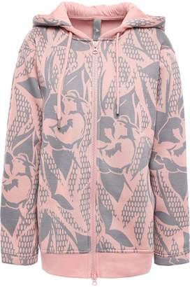 adidas by Stella McCartney Printed Scuba Hooded Jacket