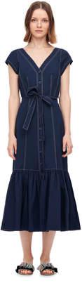Rebecca Taylor PoplinMidi Dress