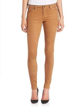 AG Adriano Goldschmied Women's Suede Legging Jeans