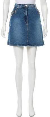 Blumarine Denim Mini Skirt