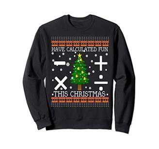 Math Christmas Sweater-Calculated Fun-Gift Geeks Teachers