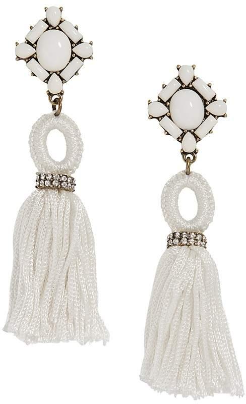 BAUBLEBAR Sohvi Tassel Drop Earrings