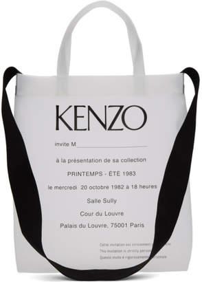 Kenzo (ケンゾー) - Kenzo トランスペアレント Invitation トート