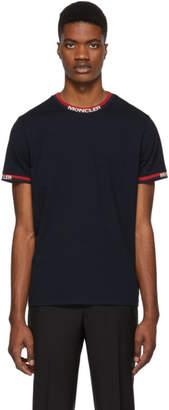 Moncler Navy Colored Trim T-Shirt