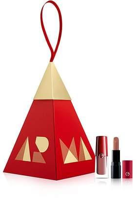 Giorgio Armani Women's Nude Lip Duo Ornament Set