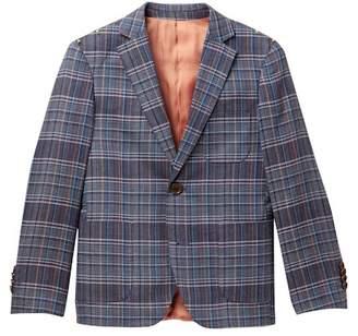 Isaac Mizrahi Multi Checkered Print Blazer (Toddler, Little Boys, & Big Boys)