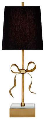 Kate Spade Ellery Table Lamp - Soft Brass/Black