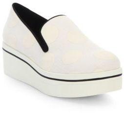 Stella McCartneyStella McCartney Binx Polka Dot Platform Loafers