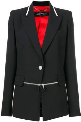 Barbara Bui zip detail blazer