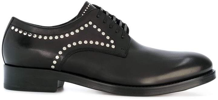 Dsquared2 studded derby shoes for cheap sale online WYQMpkq