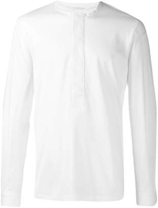 Low Brand half placket tunic