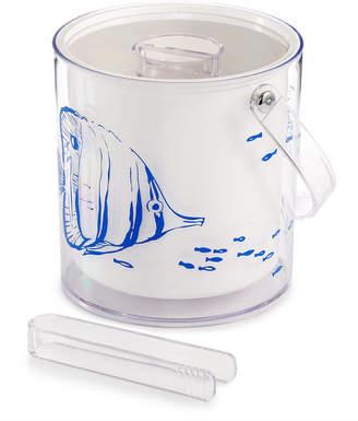 The Cellar Coastal Ice Bucket with Tongs