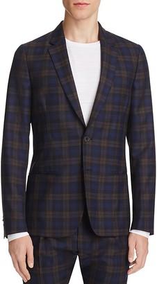 Paul Smith Plaid Slim Fit Sport Coat $995 thestylecure.com