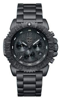 Luminox Navy Seal Steel Colormark Chronograph Watch