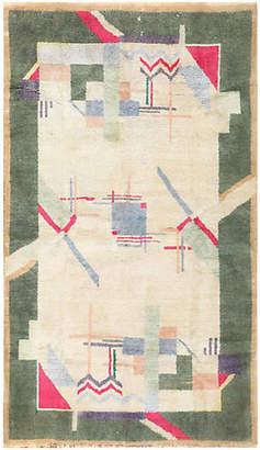 "One Kings Lane Vintage Art Deco Rug - 4'1"" x 6'10"" - Nazmiyal Collection"