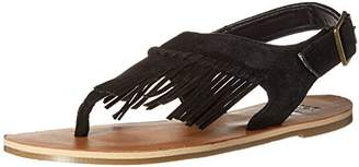 Billabong Women's All Tassled Flat Sandal
