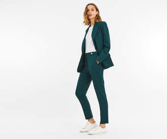 Oasis BUTTON DETAIL SUIT TROUSER